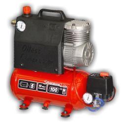 Compressore per veicoli 4x4 con serbatoio d'aria