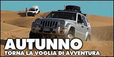 ITINERARI di AVVENTURE D'AUTUNNO in 4x4