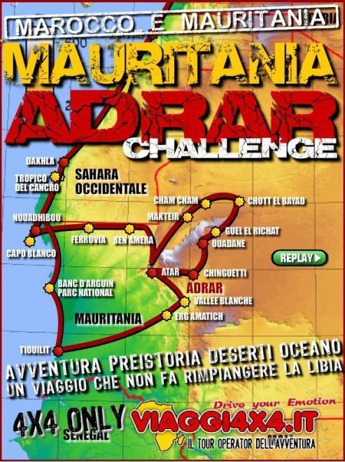 MAURITANIA 4X4 - ADRAR CHALLENGE