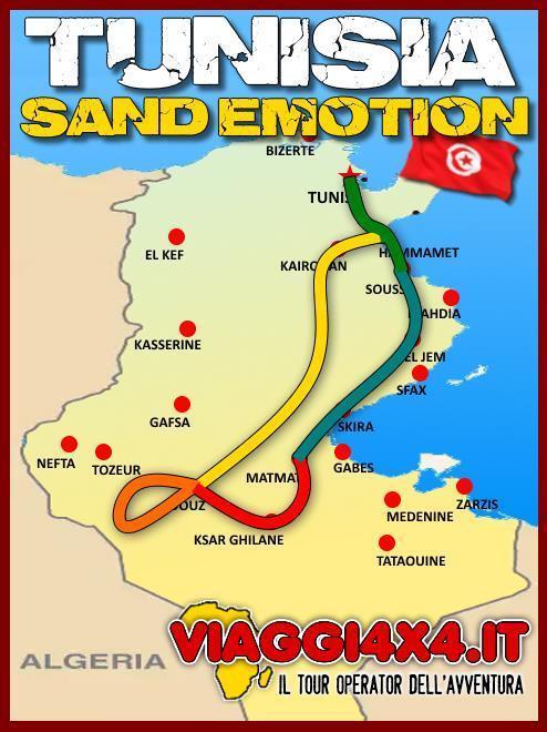 PASQUA TUNISIA SAND EMOTION