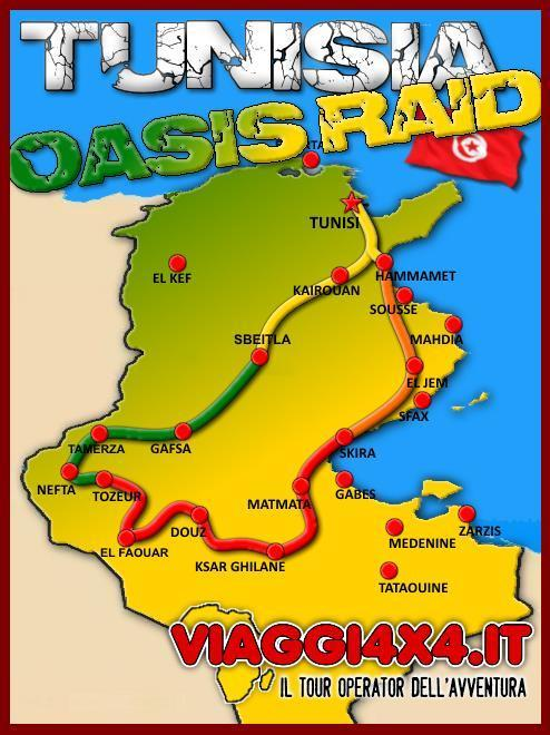 TUNISIA 4X4 OASIS RAID SUMMER EDITION