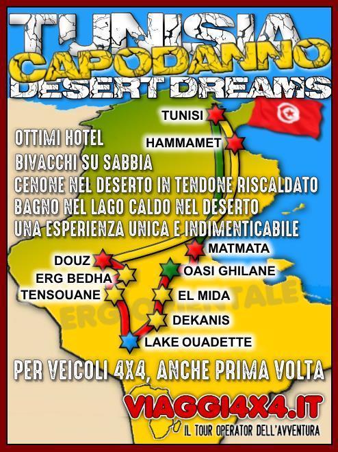 TUNISIA DESERT DREAMS CAPODANNO 2019/2020