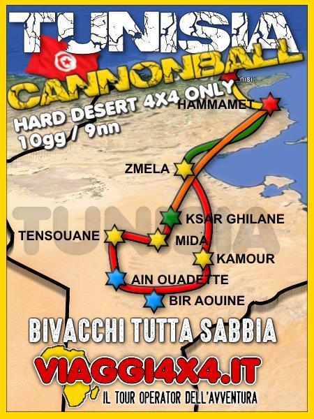 TUNISIA 4X4 HARD CANNONBALL
