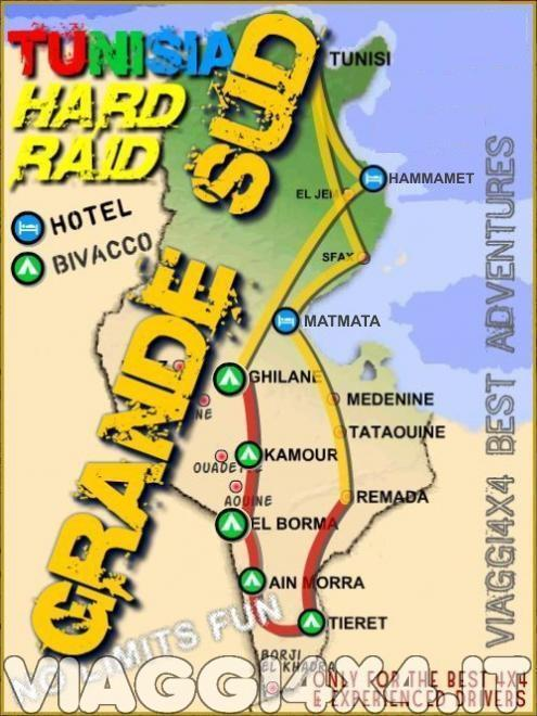 TUNISIA 4X4 HARD - RAID GRANDE SUD