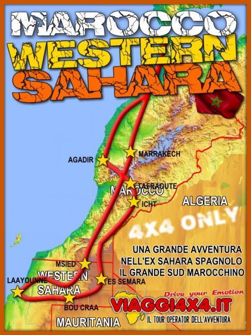 MAROCCO RAID 4X4 WESTERN SAHARA