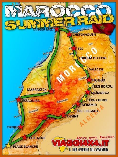 MAROCCO SUMMER RAID 4X4