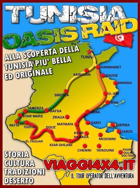 TUNISIA OASIS GRAND RAID 4X4