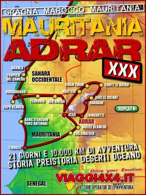 MAURITANIA 4X4 ADRAR CHALLENGE